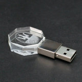 USB Flash Drive do cristal com Your Own 3D Logo (UL-C007)