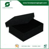 Contenitore impaccante nero di carta da stampa di colore
