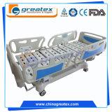 5 Funktions-justierbares elektrisches Krankenhaus-Bett-elektronisches medizinisches Bett mit ABS seitlichen Schienen (GT-BE5020)