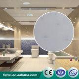 Matériau en plastique de décoration de type en bois de plafond faux