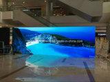 Indicador de diodo emissor de luz interno elevado da cor cheia do vídeo P4 da definição