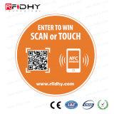 MIFARE mais o Tag de EV1 MIFARE NFC RFID para anunciar