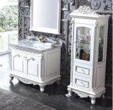 Lavabo rectangulaire en céramique de cuvette simple pour la salle de bains