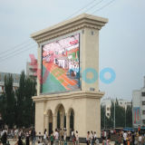 Écran visuel de haute résolution extérieur de l'Afficheur LED P8 de la publicité