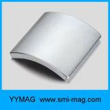 Magnete materiale magnetico permanente del motore di segmento dell'arco della terra rara del neodimio