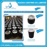 9W Waterproof a luz subaquática da associação do diodo emissor de luz (o aço 316 inoxidável)