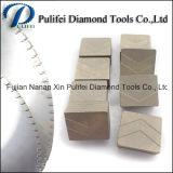 het Scherpe Segment van Manufactory van het Blad van de Diamant van 1400mm voor de Machine van de Zaag