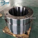 Precisão que faz à máquina da peça de aço do forjamento do CNC a roda interna fazendo à máquina