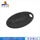 OEM impermeável ABS MIFARE cartão RFID inteligente para chaveiro