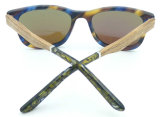 Os óculos de sol clássicos do acetato da forma das mulheres de Hotsale do projeto Fa17425 novo polarizaram a lente