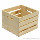 غلّة كرم متانة تخزين يعبّئ خشبيّة صندوق صندوق شحن مع مقبض