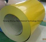 El color cubrió las bobinas de acero/las bobinas/placa de la capa del color