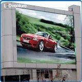 、スコアボード広告のための屋外のフルカラーの大きいLEDのビデオ壁、屋外媒体