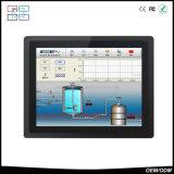 """"""" PC rugosa industrial IP65 impermeable del panel de la pantalla táctil 15"""
