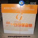 Papier de copieur de la taille 80GSM de l'impression A4 de Kool utilisé sur l'imprimante