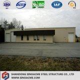 La ISO certificó el almacén de acero/el taller del bajo costo/vertido