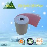 Tipo de papel sin carbono rodillo de la base plástica de la talla 76*60 del papel de caja registradora del uso de la impresora de la posición