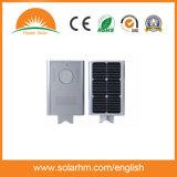 (HM-1520J) Precio al por mayor 15V20W LED todo de China en una luz de calle solar