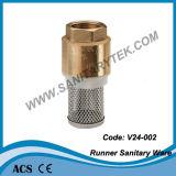 Válvula de retenção de bronze / Válvulas anti-poluição (V24-201)
