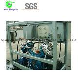 Compressor do diafragma das cabeças do gás raro dois/compressor da membrana