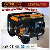 Máquina 100A-300A do uso do dobro do gerador do soldador da gasolina