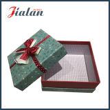 Caixa de papel do presente de uma peça só por atacado da alta qualidade com curvas