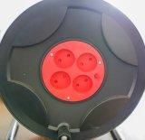 de Britse Plastic Spoel van de Kabel; De Europese Spoel van de Kabel met IP44 Contactdoos Bsi