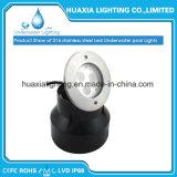 IP68 스테인리스 방수 수중 LED에 의하여 중단되는 수영장 빛