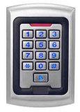 Controlador de acesso de teclado com retroiluminação de metal impermeável