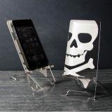 أكريليكيّ [موبيل فون] حامل هاتف قاعدة حامل قفص بالجملة