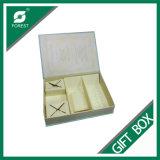 Boîtes-cadeau personnalisées de papier de couleur avec la proue Fp600154 de bande