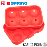 容易なリリース適用範囲が広いシリコーンの角氷の皿