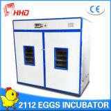 Certificado inteiramente automático Yzite-15 do Ce da incubadora dos ovos de Hhd 2112