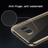 Het hoge Duidelijke Uiterst dunne Zachte Transparante Geval van de Telefoon TPU voor Samsung S6