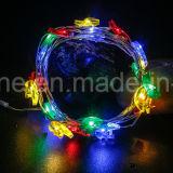 月の星ストリングはホームに飾ることのための軽いセンサーが付いている20のLEDのクリスマスの照明をつける