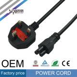 Sipu BRITISCHES Stecker 0.75mm2 6FT PC Energien-Kabel für Computer
