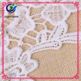 Garganta floral do colar do laço do Crochet do Neckline branco de Dyeable