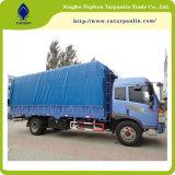 Bâche de protection de tissus enduite par PVC de prix usine pour la couverture Tb097 de camion