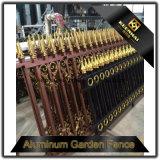 Omheining van het Ijzer van het Aluminium van de tuin de Decoratie Aangepaste Gegoten voor Veiligheid