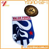 Ropa de /Patches escritura de la etiqueta de la calidad de Hight y de la corrección/de la divisa de encargo del bordado (YB-HR-394)