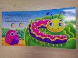 Impresión de encargo del cómic del atascamiento de libro de la tarjeta del Hardcover