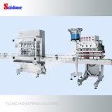 Llenador automático y máquina que capsula para producir el líquido del lavado con buen precio
