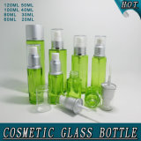 Glass Glass Airless Pump Bottle Screen Printing