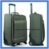De promotie In het groot Nylon Zak van het Karretje van de Reis met de Versieringen van Pu, de Koffer van de Handbagage met Wielen