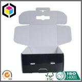 Складным коробка перевозкы груза гофрированной бумага обеих сторон черным напечатанная цветом