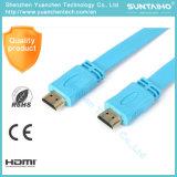 cable de alta velocidad del cable 4k 1080P 3D HDMI de 1.4V HDMI