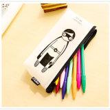 最新の創造的なデザイン漫画の形の防水シリコーンの筆箱