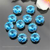 Diamantrhinestone-Fabrik nähen auf fantastischem Kristallstein für DIY Bekleidungszubehör (Schalter-Rivoli 14mm)