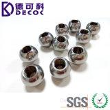 Le diamètre bille d'acier inoxydable de 8mm et de 10mm a fileté le trou de 2mm et de 4mm