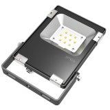 Luz LED de 10W LED de iluminación de inundación al aire libre IP65 a prueba de agua de CE RoHS